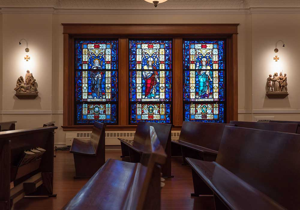 University Chapel Renovation Walker Construction